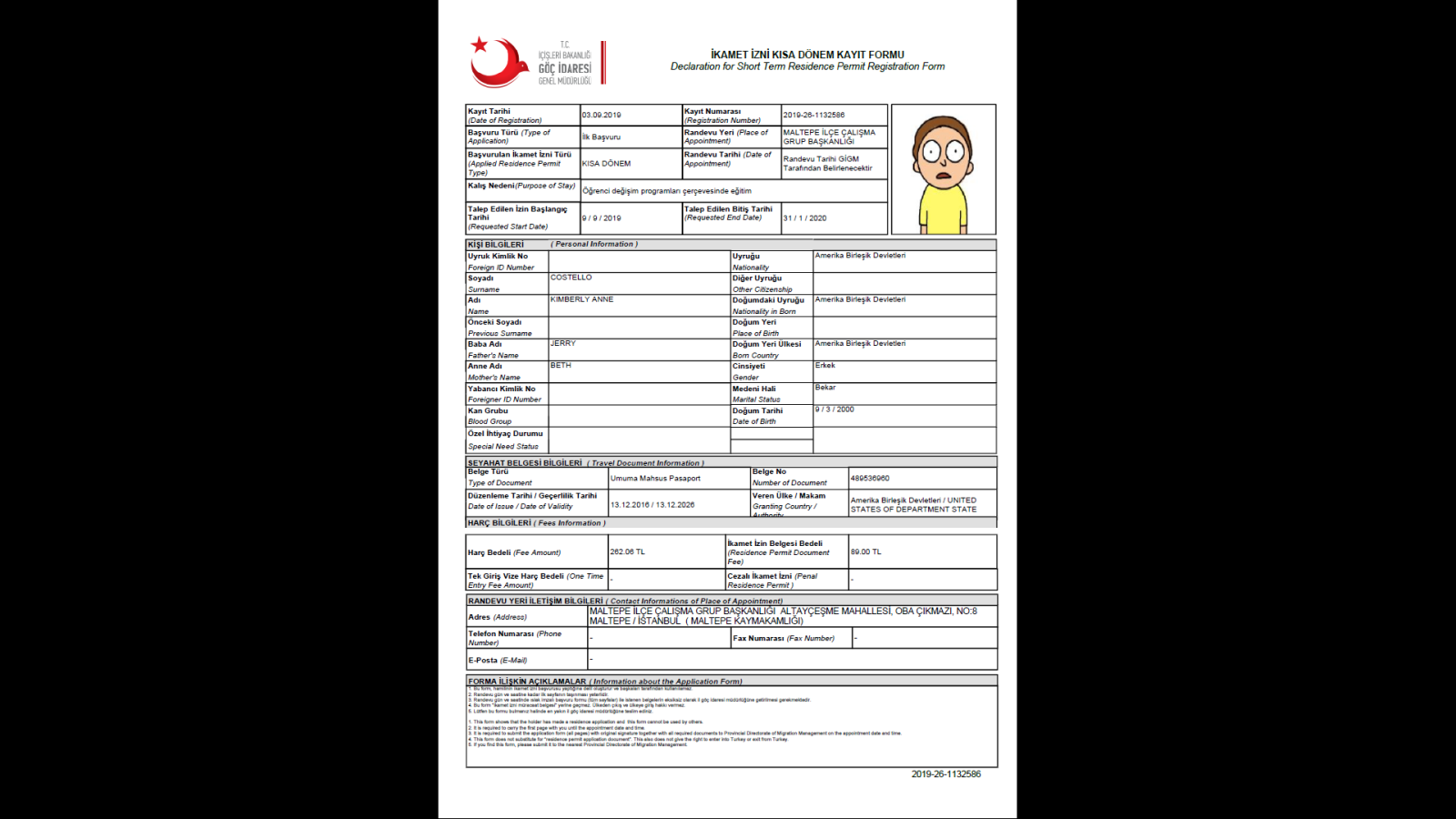 Residence Permit | Istanbul Foreigners Office